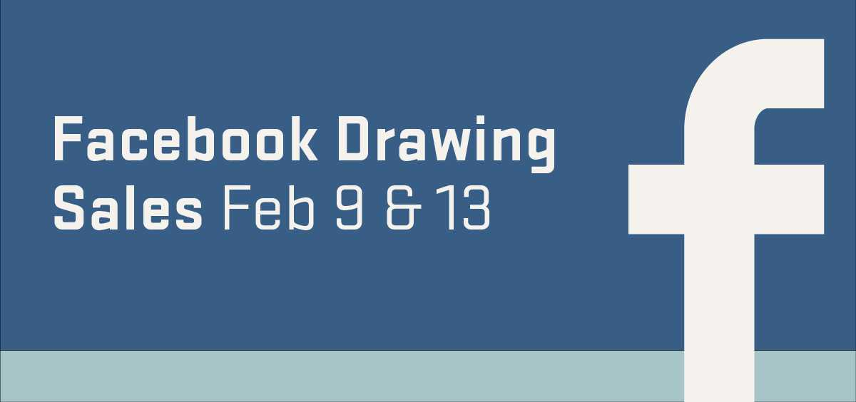 Facebook Drawing Sales graphic