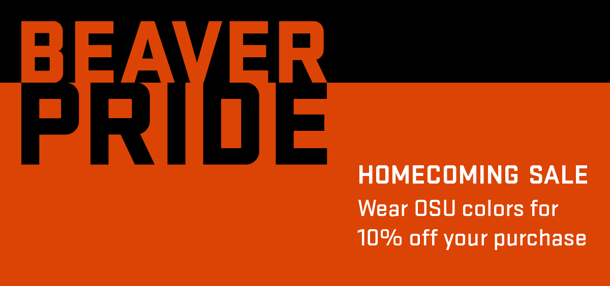 October 14 Homecoming sale graphic