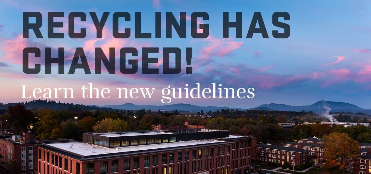 recyclign has changed, learn the new guidelines